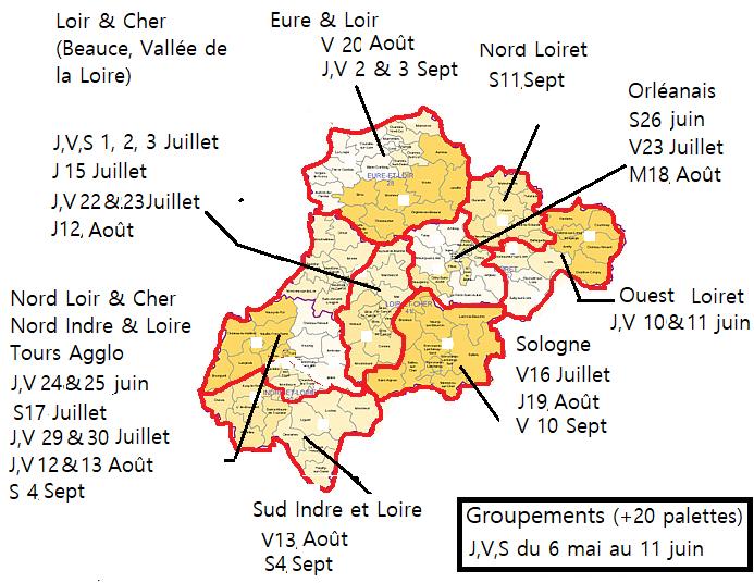 Carte livraison 2021